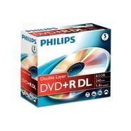 Jewel case DVD+R 4,7GB 16X Philips (1 unidade)