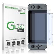 Película de vidro temperado amFilm para Nintendo Switch (2017) – pack de 2 unidades