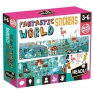 Headu Puzzle + Adesivos Fantastic World