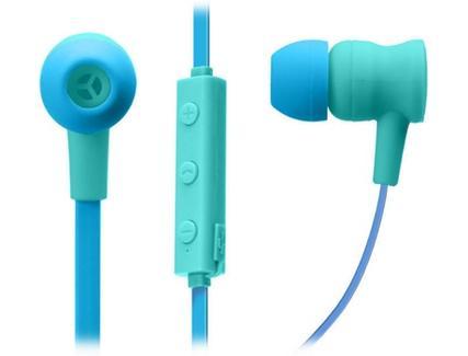 Auriculares Bluetooth SBS Pop Collection (In Ear – Microfone – Azul)