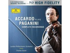 CD+ Blu-Ray Salvatore Accardo – Accardo Plays Paganini (The Complete Recordings)