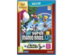Jogo WII U Nintendo Selects: New Super Mario Bros U + New Super Luigi U