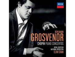CD Benjamin Grosvenor/Elim Chan/Royal Scottish National Orchestra: Chopin-Piano Concertos