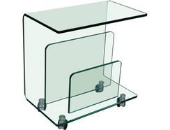 Mesa Apoio BHP B154158 vidro transparente
