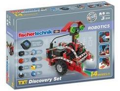 Kit De Construção TXT Discovery Set Fischertechnik