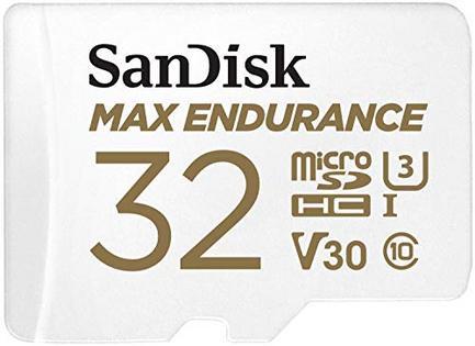 Cartão de Memória MicroSDHC SanDisk Max Endurance 32 GB