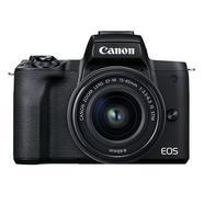 Câmara Evil Canon EOS M50 Mark II com Objetiva 15-45MM S – Preto