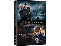 Pack DVD Fantastic Beasts 2 Filmes (De:David Yates – 2018)