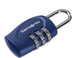 Cadeado com código SAMSONITE em Azul