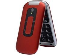 """Telemóvel TELEFUNKEN TM240 COSI (2.6"""" – 2G – Vermelho)"""