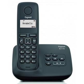 Telefone Sem Fio GIGASET AL117A Preto