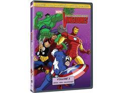DVD Os Vingadores Vol.3 – Os Heróis mais Poderosos da Terra