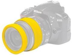 Aros protetores para lente EASYCOVER 77 mm Amarelo