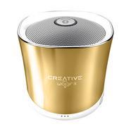 Coluna Bluetooth Creative Woof 3 Dourada