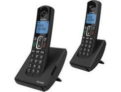 Telefone ALCATEL F680 Duo Preto