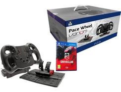 Volante PS4 Pace Wheel + Jogo Drive Club