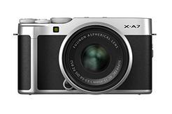 Kit Máquina Fotográfica Mirrorless FUJIFILM X-A7 + XC15-45mm (Prateado – 24.2 MP – Sensor: APS-C – ISO: 100 a 51200)