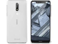 Capa MUVIT Cristal Nokia 7.1 Transparente