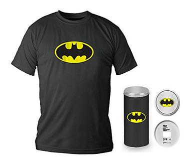 T-Shirt DC COMICS Logotipo Batman Preta S