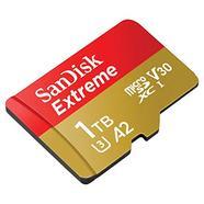 SanDisk Extreme 1TB microSDXC UHS-I C10 U3 V30 A2