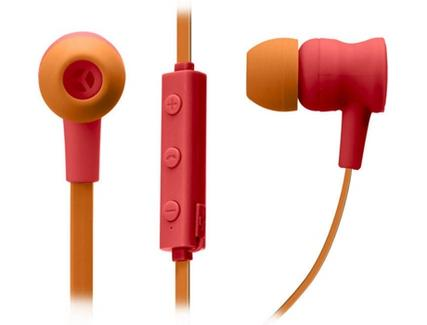 Auriculares Bluetooth SBS Pop Collection (In Ear – Microfone – Vermelho)