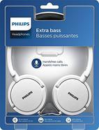 Auscultadores com Fio PHILIPS SHL5000 (On Ear – Microfone – Branco)