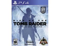 Jogo PS4 Rise Of The Tomb Raider: 20 Anos (Bundle)
