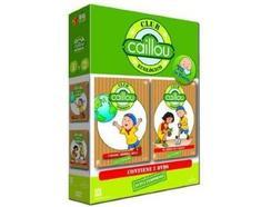 DVD Pack Caillou – Club Ecológico – Caillou Ahorra Agua + El Árbol De Caillou (Edição em Espanhol)