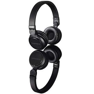 Auscultadores THOMSON WHP-6007B (On Ear – Microfone – Noise Canceling – Preto)
