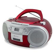 Rádio Boombox SOUNDMASTER CD/K7 SCD5410RO