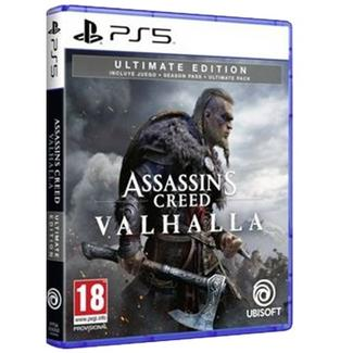 Jogo PS5 Assassin's Creed Valhalla (Ultimate Edition – M18)