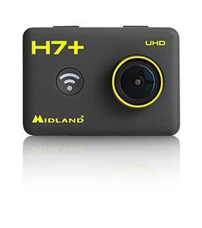 Action Cam MIDLAND H7+ 4K Preto
