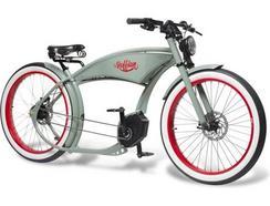 Bicicleta Elétrica RUFF CYCLES The Ruffian Cinzenta (Autonomia 90 km / Velocidade Máx: 25 km/h)