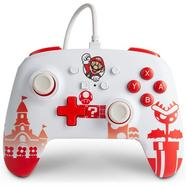 Comando por cabo com botões programáveis e saída de áudio Mario – Nintendo Switch