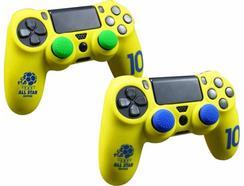 Kit Silicone Futebol Amarelo – PS4