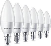 Lâmpadas Philips E14 5.5W Pack 6