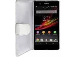 Capa Sony Xperia Z ARTWIZZ Leather Branco