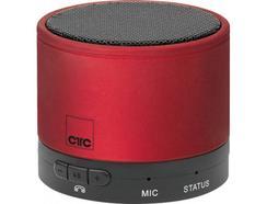 Mini Coluna BT CLATRONIC BSS 7006 Vermelho