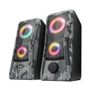 Trust GXT 606 Javv Colunas 2.0 com Iluminação RGB
