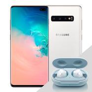 Samsung Galaxy S10+ 6.4″ 512GB Dual SIM Branco Cerâmico