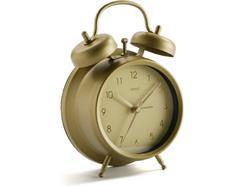 Relógio despertador VERSA Ouro