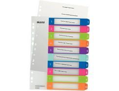 Separadores Imprimíveis LEITZ WOW 10 cores