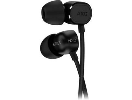 Auriculares Com fio AKG N20 NC (In Ear – Microfone – Noise Canceling – Preto)