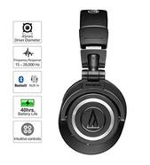 Auscultadores Bluetooth TECHNICA M50XBT (Over Ear – Microfone – Negro)