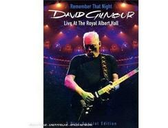 CD/DVD David Gilmore – Remember That Night