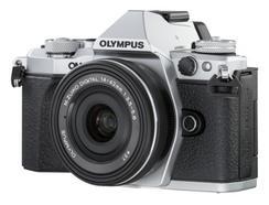Olympus OM-D E-M5 Mark II + M.Zuiko Digital ED 14-42mm f/3.5-5.6 EZ (Prata)