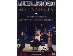 CD/DVD Madredeus & A Banda Cósmica – Metafonia