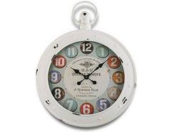 e064b0cada5 Relógio Parede VERSA Metal Kensington 60 — Comparador ZWAME