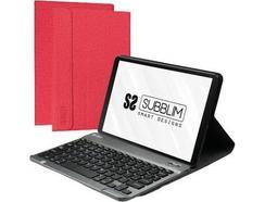 """Capa Teclado SUBBLIM Pro (10.1"""" – Bluetooth – Samsung GT T510/515)"""