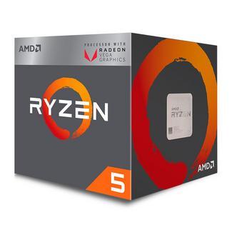 AMD Ryzen 5 2400G Quad-Core 3.6GHz c/ Turbo 3.9GHz 6MB SktAM4